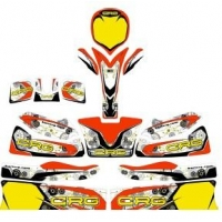 Kit adesivi CRG GOLD completo Mini