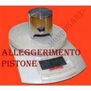 Alleggerimento Pistone Racing, MONDOKART