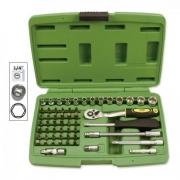 Boîte à outils 56 pièces douilles hexagonales, MONDOKART, kart