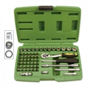 Tool case 56 pieces hexagonal sockets, MONDOKART, Full Wrench