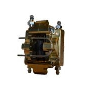 Front caliper V04-V10 Full Gold CRG, MONDOKART, Front Caliper