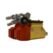 Brake pump (with double distribution KZ) gold with CRG