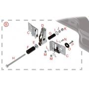 Gommino 20mm paraurti posteriore KF KZ OTK Tonykart, MONDOKART