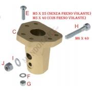 Soporte Volante Inclinado - 6 agujeros OTK TonyKart, MONDOKART