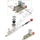 Gasket brake master cylinder reservoir OTK TonyKart, mondokart