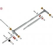 Radiator support kit 400x200 OTK Vortex TonyKart, MONDOKART