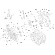 Semialbero lato trasmissione Iame Screamer 2 KZ, MONDOKART