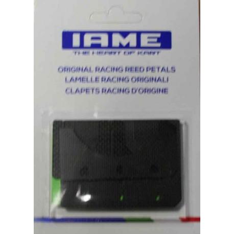 Kit Carbon Reeds 0.30 / 0.33 Iame Screamer (1-2) KZ, mondokart