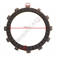 Clutch Plate Padded Iame Screamer (1-2-3) KZ