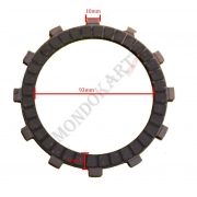 Clutch Plate Padded Iame Screamer (1-2) KZ, MONDOKART