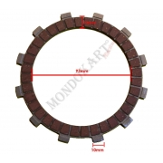Clutch Plate Padded Iame Screamer (1-2) RT (Racing), MONDOKART