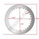Disco frizione acciaio spessore 1,5mm TM, MONDOKART, kart, go