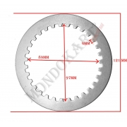 Clutch Plate Disc Steel 1,5mm TM, MONDOKART, Clutch TM K8