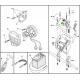 Auriculares de control de mano impermeable IAME EASYKART