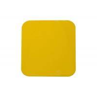 Klebeplatte, gelber Kristall HQ