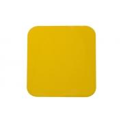 Klebeplatte, gelber Kristall HQ, MONDOKART, kart, go kart