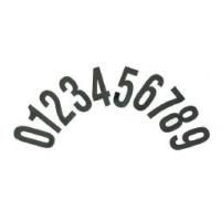 Números Adhesivos Standard CRG