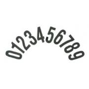 Numeri adesivi standard CRG, MONDOKART, kart, go kart, karting