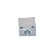 Aluminium Schlaucharmatur Brems OTK BS7 TonyKart, MONDOKART