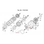 Coperchio Carter Frizione TM KZ10C, MONDOKART