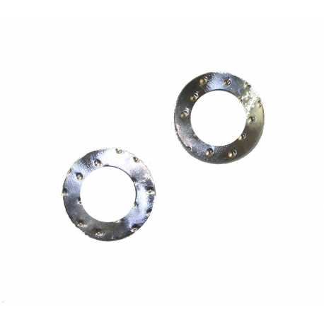 Silver Conrod Washer 20mm crank pin, mondokart, kart, kart