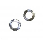 Silver Conrod Washer 18mm crank pin, MONDOKART, Connecting rods