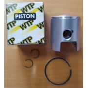 Piston complete with chrome segment WTP 60, MONDOKART