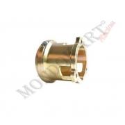 Soporte Disco Freno Delantero V06 magnesio CRG, MONDOKART