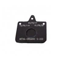 Plaquette frein V04 - V06 - Mini New Age Noir standard CRG