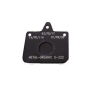 Pastiglia Freno V04 - V06 - Mini New Age Standard nero CRG