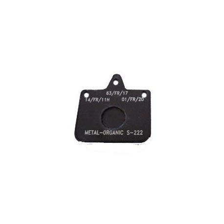 Bremsbelag V04 - V06 - Mini New Age Schwarz Standard CRG