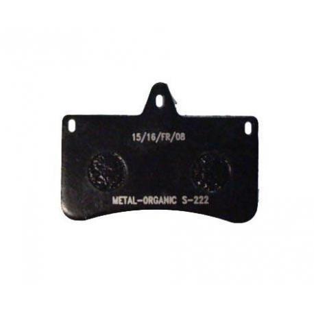 Disc brake pad V04 standard rear CRG, MONDOKART, Rear Caliper