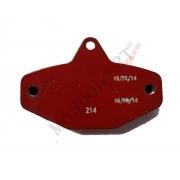 Pastiglia Freno V08 Posteriore CRG, MONDOKART, Impianto V08 (KF