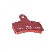 Front brake pad SA3 BS7 OTK Red TonyKart, MONDOKART, Brake pads