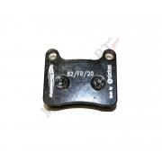 Pastiglia freno anteriore Intrepid (R1K) KZ, MONDOKART