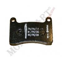 Rear brake pad Intrepid KF KZ (R2K)