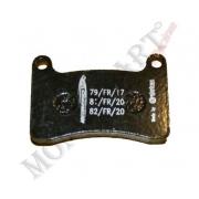 Rear brake pad Intrepid KF KZ (R2K), MONDOKART