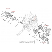 Rosetta holding mass countershaft Iame OK - OKJ, MONDOKART