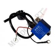 CDI Box / Coil Engine OKJ Blue, MONDOKART, Electrical System