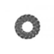 Rondella dentata M10, MONDOKART, Supporti scarico / filtro CRG