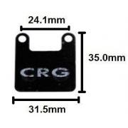 Brake Pad PUFFO 50cc CRG, MONDOKART, Brake system Mini NewAge