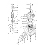 Canna cilindro TM KF2, MONDOKART, kart, go kart, karting