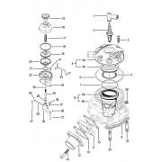 Cylinder rod TM KF2, MONDOKART, Piston & Cylinder TM KF