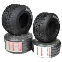 Kart Reifen Bridgestone Regen YFD Minirok - RAIN