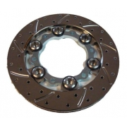 Brake Disc Complete Kit Floating 80x180x16 KF KZ OK BirelArt