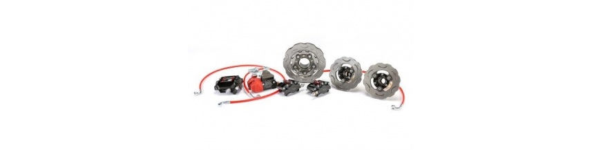 Complete braking system kit