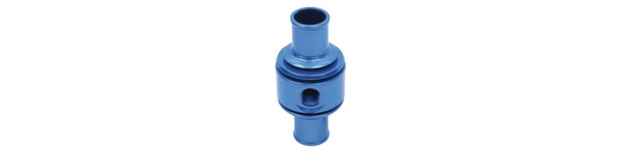 Water temperature probe supports