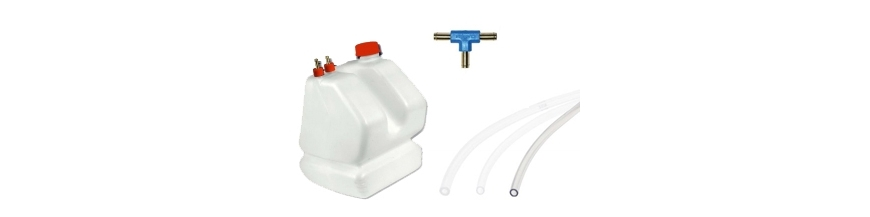 Fuel tank and pipes