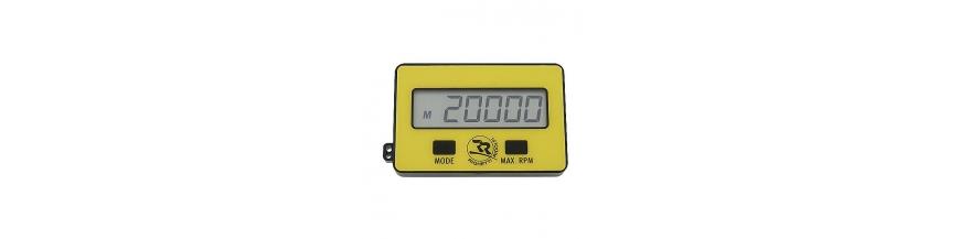 Tachymètre RPM - Compteur Heures