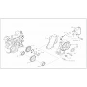 Boccola montaggio paraolio albero motore